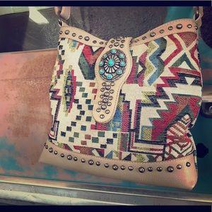 Montana West, over-shoulder purse